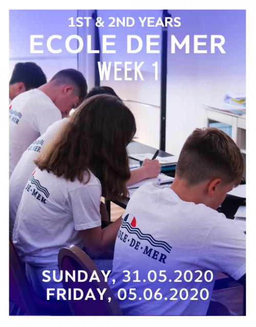 Ecoledemer week 1 courses 2020