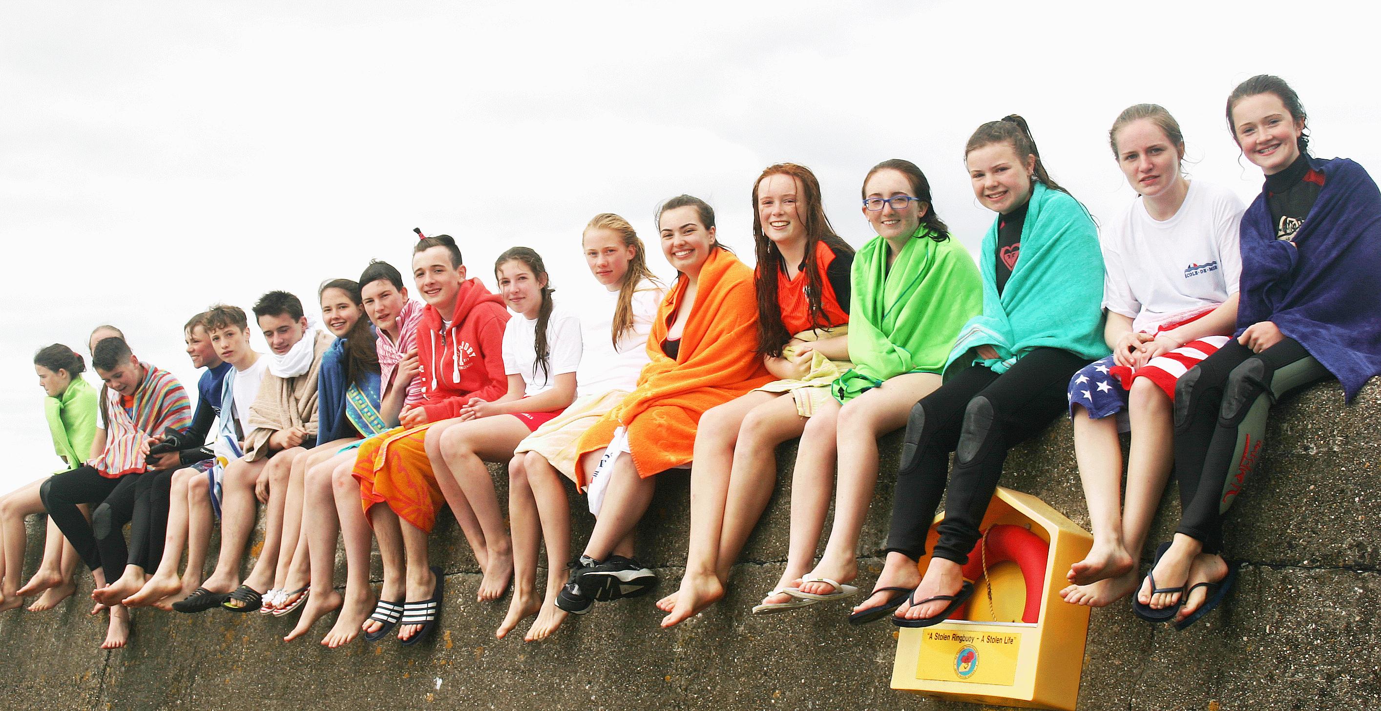 Ecole de mer students 2016