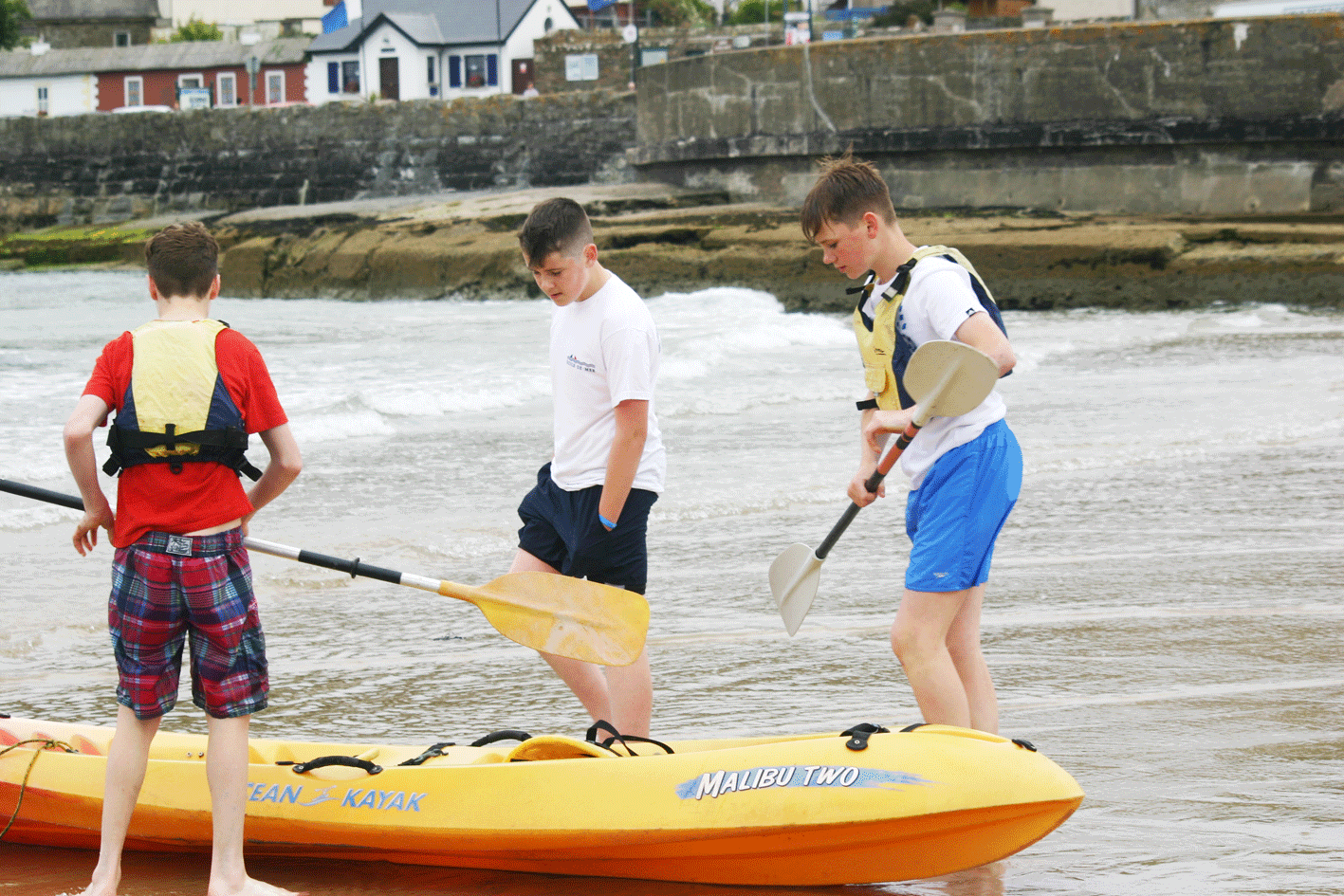 Kayaking ardmore ecole de mer 2016