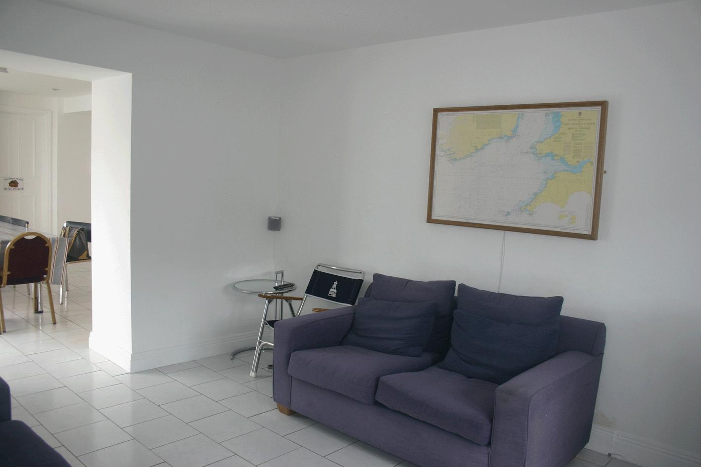 Dining room of Ecole De Mer accomodation